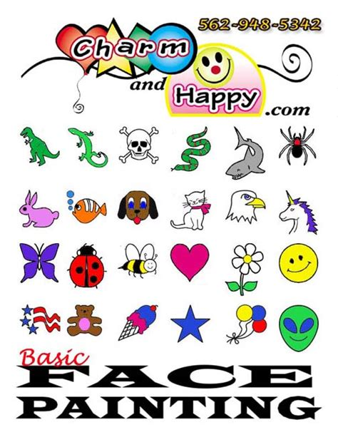 templates for face painting simple face painting ideas maggie s 4th birthday