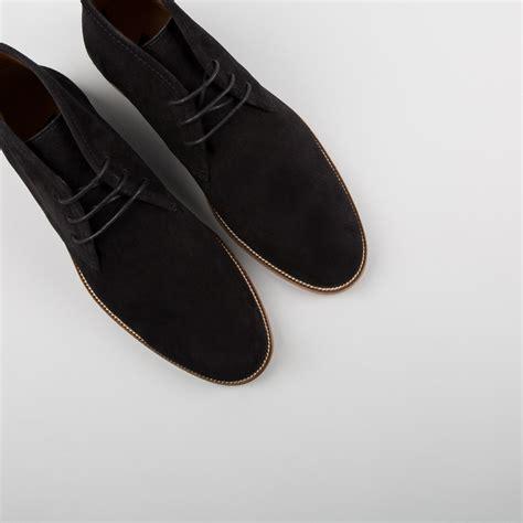Handmade Chukka Boots - handmade black suede chukka boot chukka black