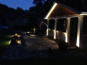Patio Column Lights Column Lighting Expert Outdoor Lighting Advice