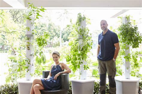 meet founders of the aerospring garden vertical aeroponic