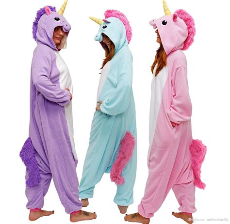 Animal Onesie Pajama happybuy kigurumi animal onesie rainbow pony onesie
