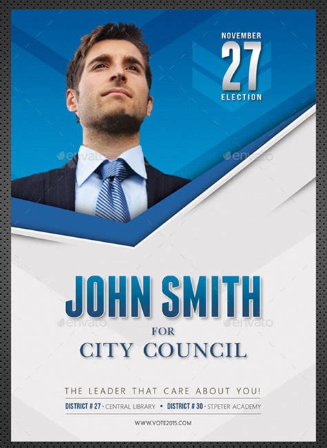 Election Poster Template election brochure templates psd free premium brochures creative template