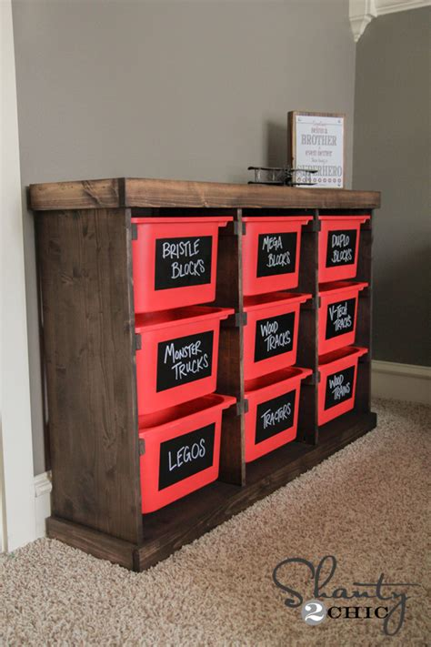 diy toy storage ideas diy storage idea shanty 2 chic