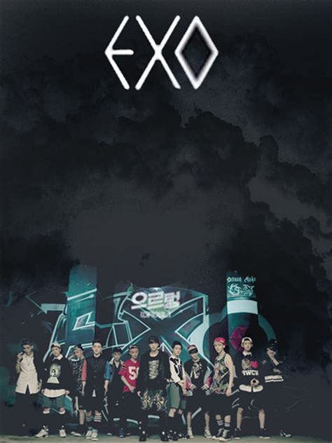 wallpaper exo growl exo images exo growl teaser wallpaper and background