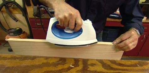 Kitchen Sinks With Backsplash by How To Cover Plywood Edges With Wood Veneer Today S