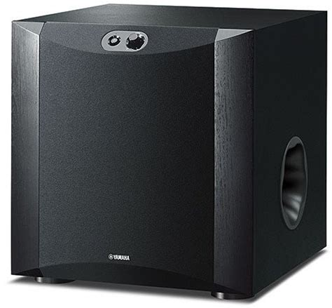 Speaker Advanced Es 030s yamaha ns sw300 subwoofer advanced yst ii twisted flare port nero home audio e hi fi
