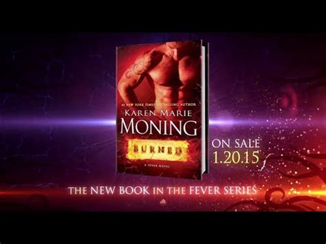 burned a fever novel burned by moning book trailer