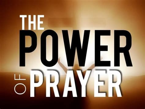 Power In Prayer the shortest prayer in the bible beginning and end