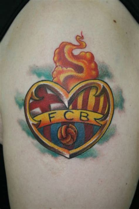 tattoo logo barca tatuajes de belgrano river y boca entre los mejores