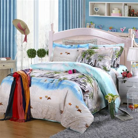 beach themed bedding aqua beige and sea green rustic style exotic city chic