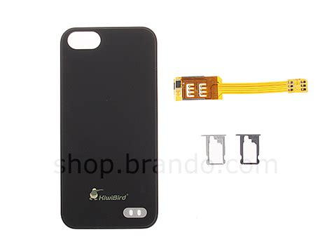 iphone 5 sim card dual sim card for iphone 5 5s with back