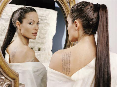 angelina jolie makeup tattoo lara croft sci fi bloggerssci fi bloggers