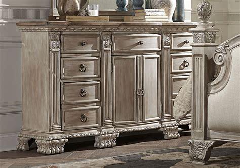 homelegance orleans ii bedroom set white wash b2168ww