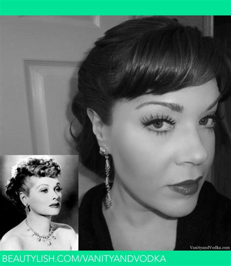lucille ball no makeup 1940 s inspired makeup lucille ball colleen w s