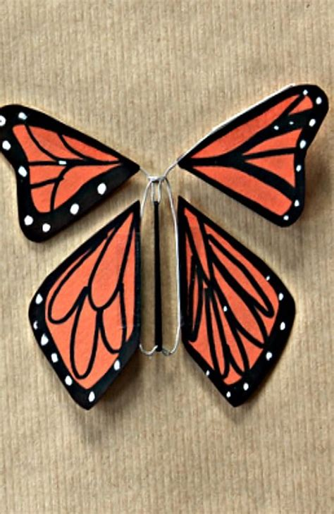 How To Make A Paper Butterfly That Flies - 48 best images about monarch butterflies on