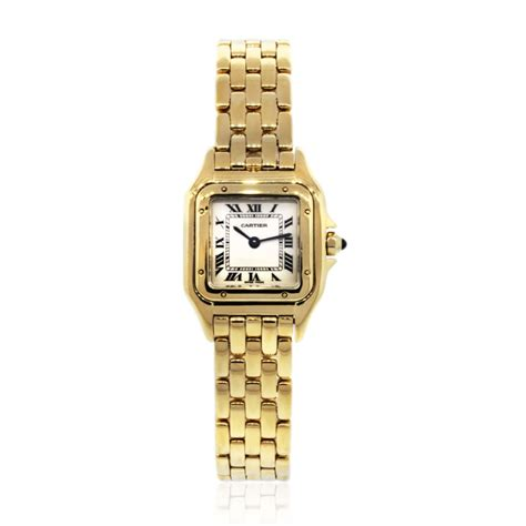cartier panther 18k yellow gold boca raton