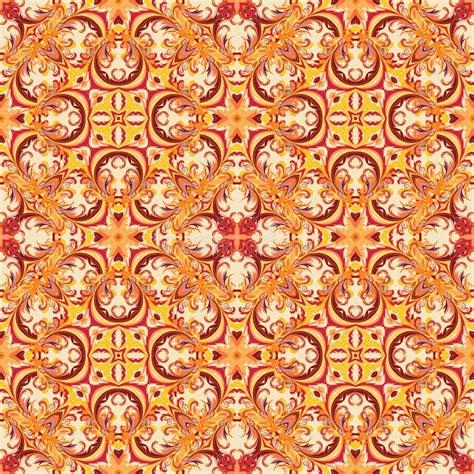barok stijl bloemen barok stijl bloemenbehang naadloos vectorpatroon vierkante
