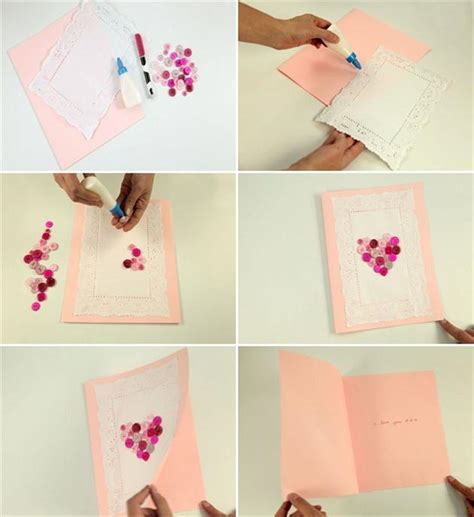 Handmade Cards Tutorials - 8 diy s day cards tutorials for your special