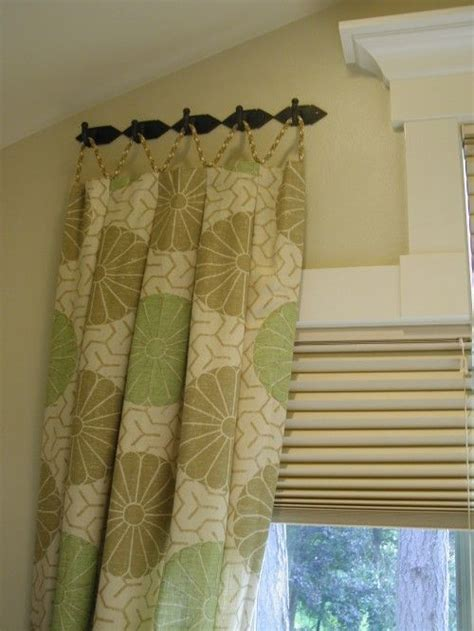 window curtains with hooks good idea windows fashions pinterest hooks hang