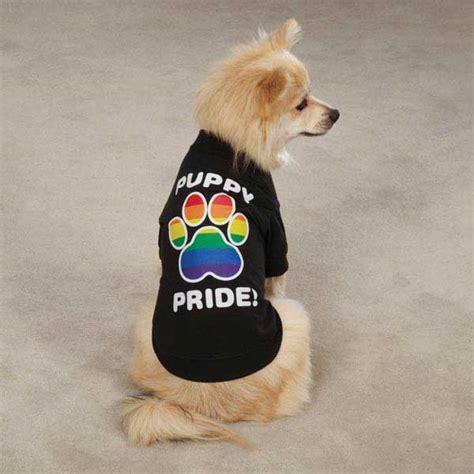 puppy pride puppy pride t shirt black at baxterboo