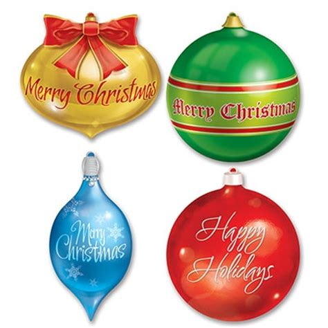 christmas ornament cutouts decorations partycheap