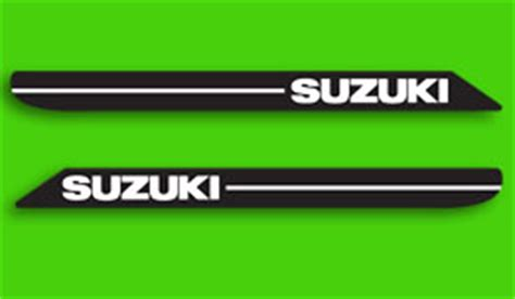 Suzuki Tank Decals Decals For Classic 1968 75 Suzuki Decals Many Models