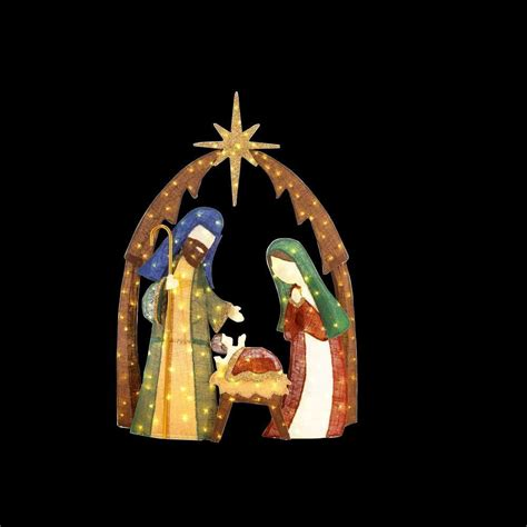 home accents outdoor decorations nativity outdoor decorations lizardmedia co