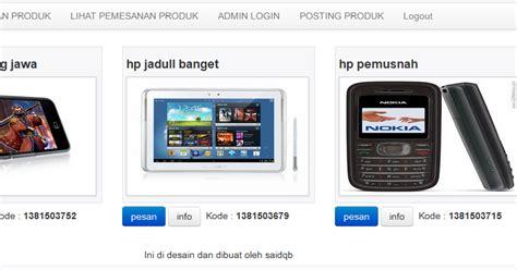 membuat web video streaming dengan php membuat web jual beli dengan php dilengkapi dengan admin