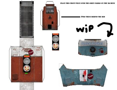 Papercraft Machine - zombies papercraft juggernog by nazizombisttgt on