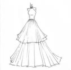 Design Sketch For The dress design sketches on pinterest fashion sketches dress sketches