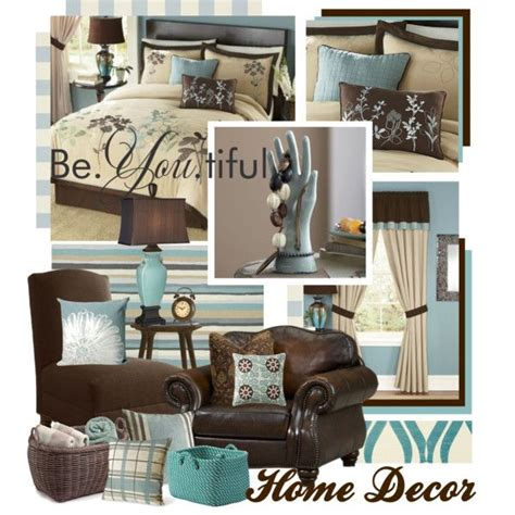 polyvore home decor quot teal brown and beige home decor quot by