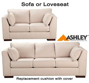 ashley furniture couch cushion replacement ashley 174 pierin replacement cushion cover 8250038 sofa or
