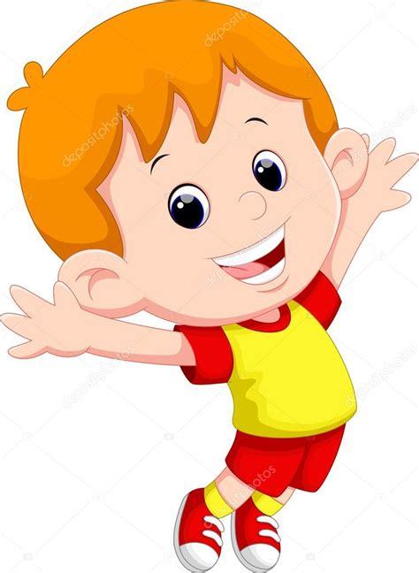 imagenes de niños alegres en caricatura dibujos animados ni 241 o feliz archivo im 225 genes vectoriales