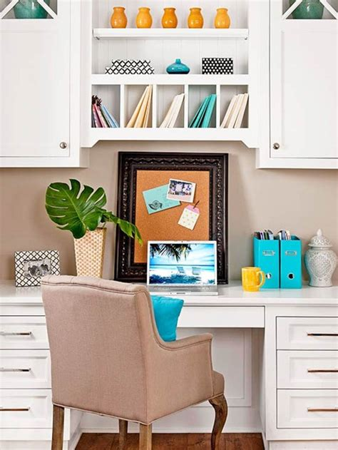 Kitchen And Office Space Small Space Solutions Home Offices Centsational