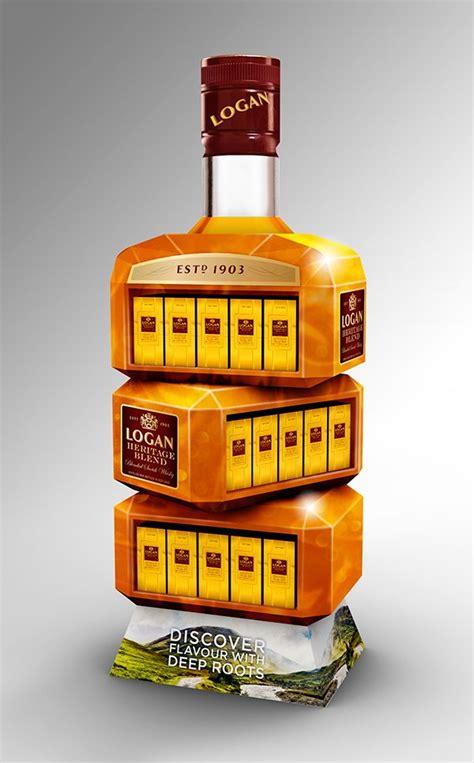 Pop Blended logan heritage blend whisky on behance exhibitions
