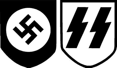 Swastika Sticker swastika ss vinyl decal sticker set