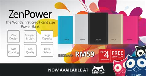 Power Bank Asus Di Malaysia the asus zenpower 9600mah power bank is now available on