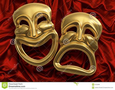 comedy tragedy masks royalty free stock image image 3753356