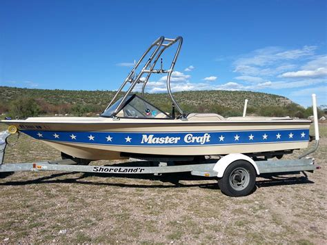 just add water boats owner 1985 mastercraft skier quot stars stripes quot 19 foot for sale