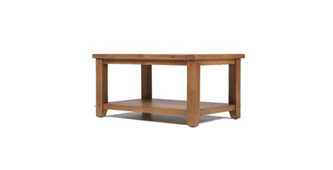 Open Coffee Table Rustic Oak Open Coffee Table Lifestyle Furniture Uk