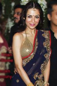 navy blue chiffon celebrity saree giftsmate