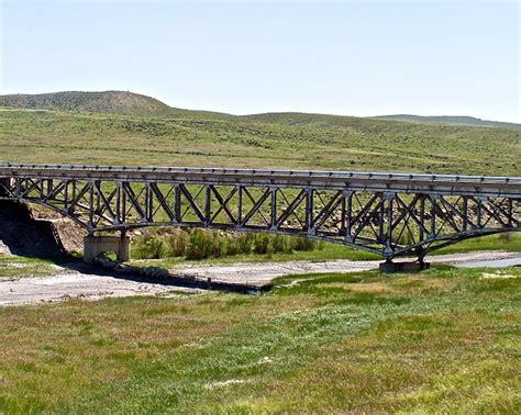 les ponts en treillis ponts en poutre en treillis type pratt structurae
