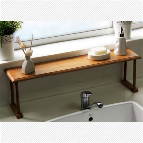 shelf kitchen sink bamboo the sink shelf veeeeeegan