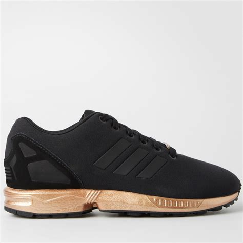 Adidas Zx Flux S by Adidas Zx Flux Womens Copper Metallic