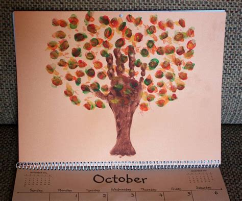 october crafts for october footprint crafts