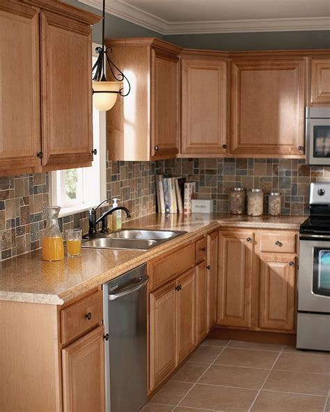 bloombety kitchen backsplash design ideas with deluxe you don t have to wait for fine cabinetry the home depot