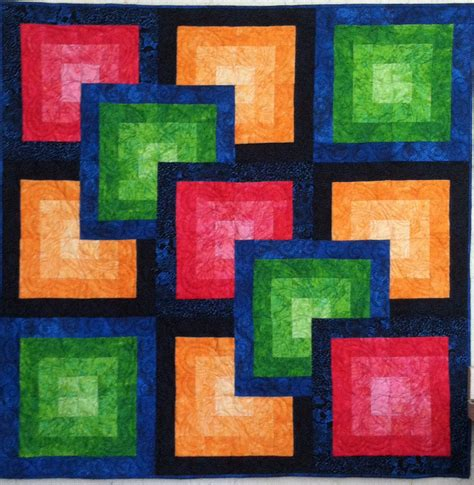 Illusion Quilt Pattern by Optical Illusions Combs Studio