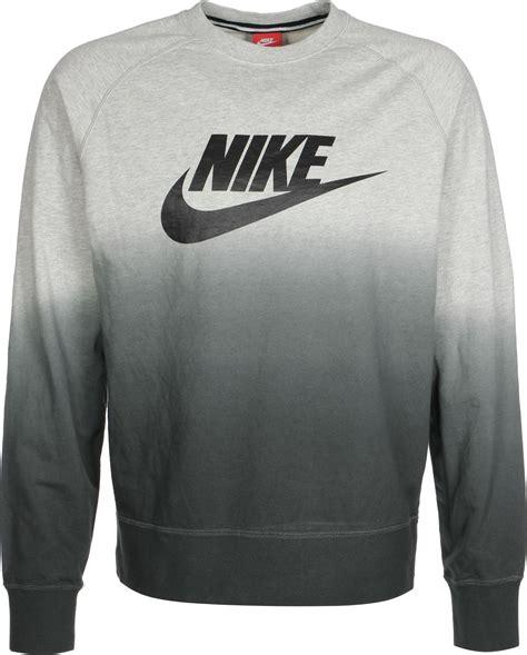 Nike Sweater Ks nike aw77 ft crew fade sweat gris chin 233