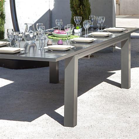 table de jardin 12 personnes table oceo aurore 8 12 personnes