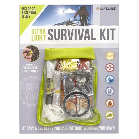 Survival Kit For 20 Something ultralight survival kit 29 4052 made by lifeline aid cpr savers and aid